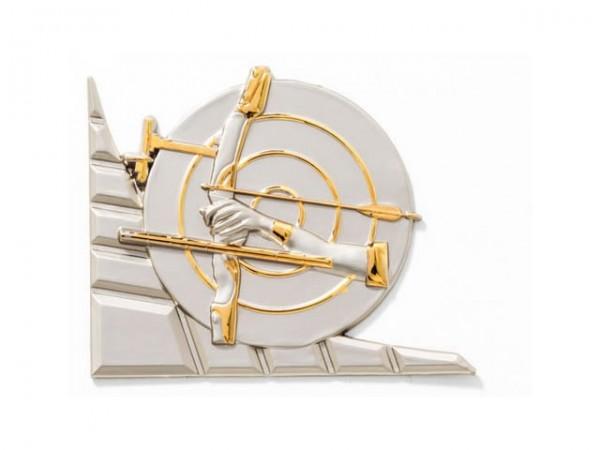 3D-Dekor Bogen (Hochglanz Metall)
