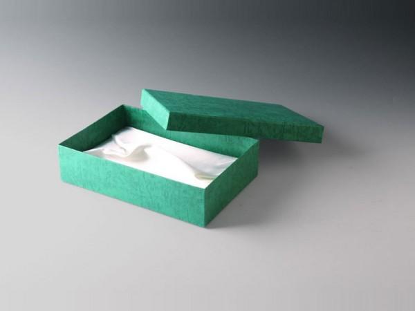 Geschenkbox grün 230x155mm