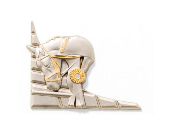 3D-Dekor Reiten (Hochglanz Metall)