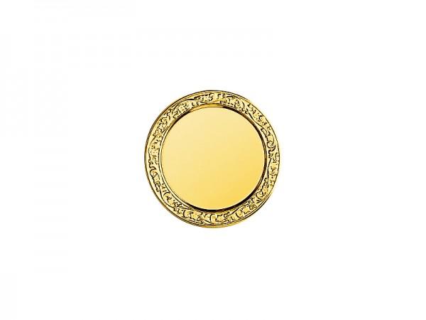 Metallfassung Ø70mm, 3 Farben, für 50mm Emblem