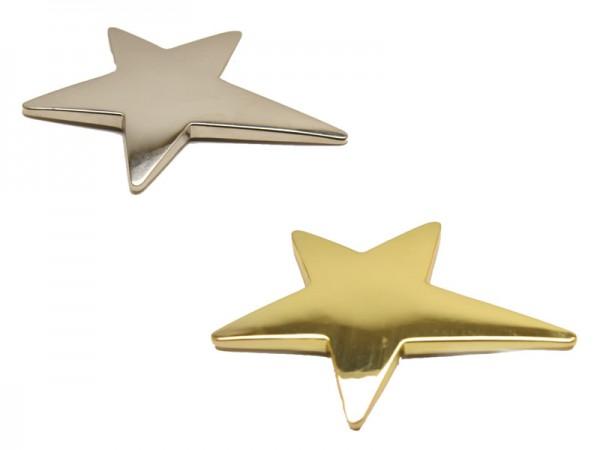 Metallstern 3 Farben 85x65mm