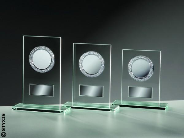 Glasständer Rechteck 'Gravurschilder', 3 Größen, 6mm Stärke