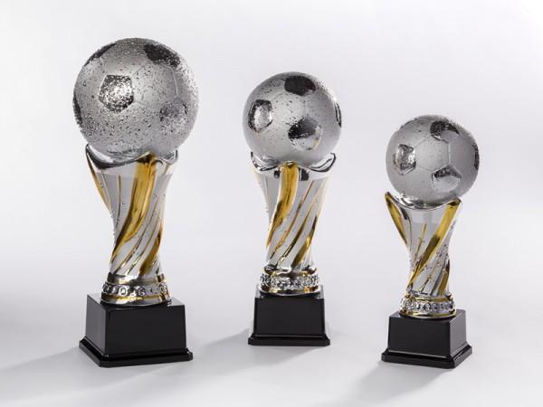 Resin-Trophäe Fussball, 3 Größen