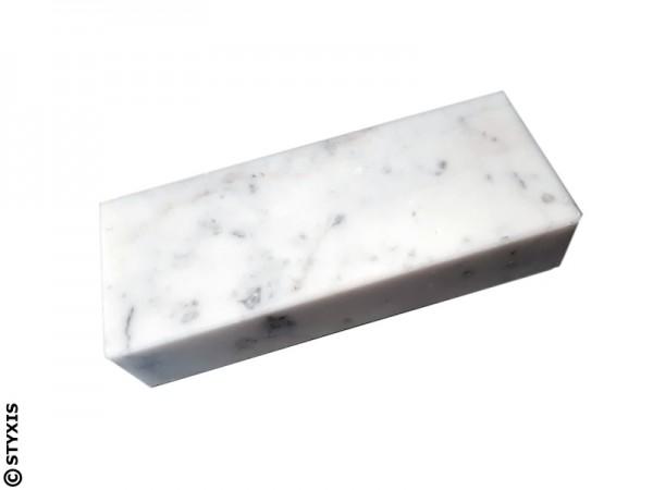 Marmor Sockel weiß 150x60x30mm