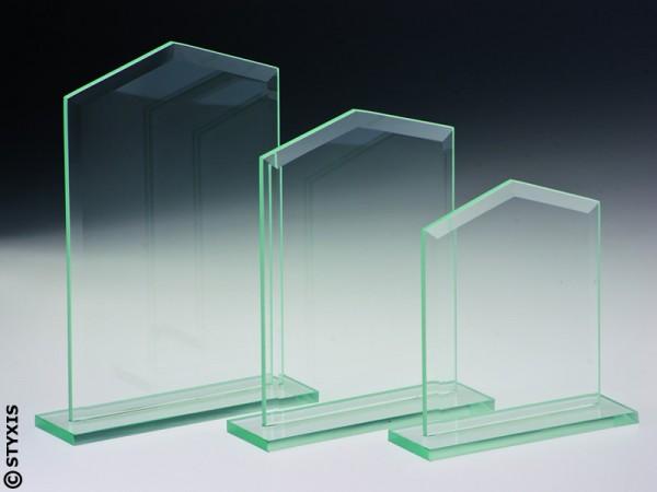"""Glasständer """"Glashaus"""", 3 Größen, 6mm Stärke"""