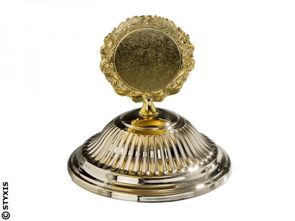 Rillendeckel Gold Ø100mm für 50mm Emblem