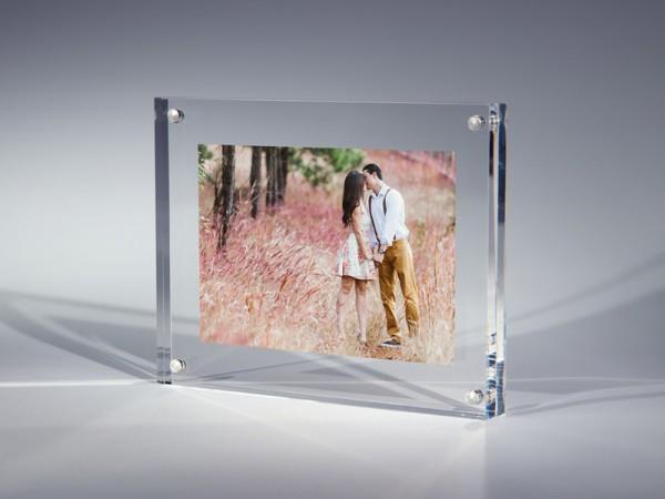 Bilderrahmen Acrylglas für Fotos 20mm Stärke