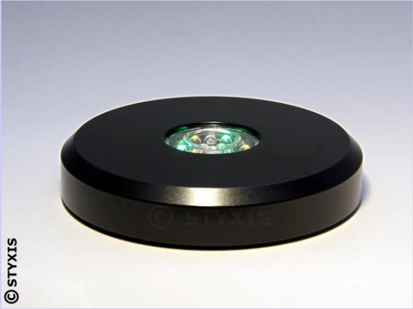 Led-Sockel Colorstop Rund Ø11cm(schwarz) 15 Led's inkl. Weiß