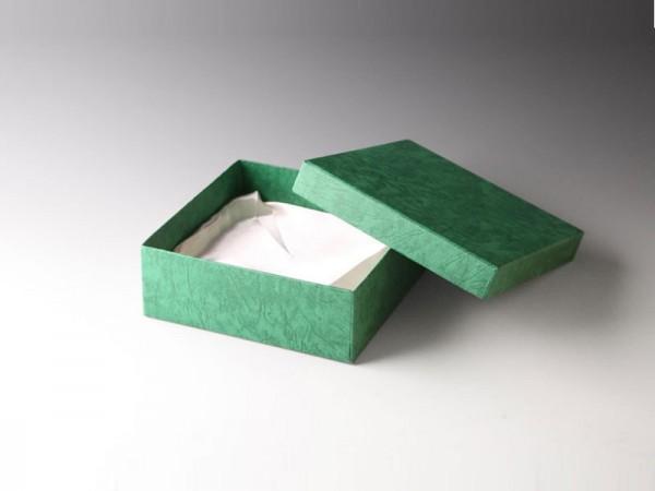 Geschenkbox grün 190x190mm