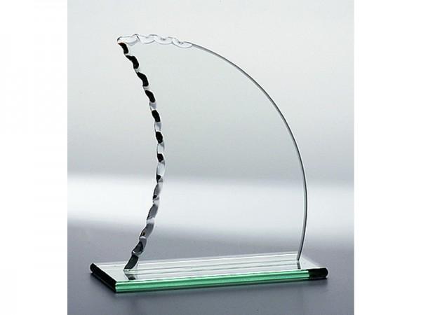 "Glas ""Segel"", 3 Größen, 6mm Stärke"